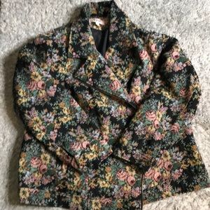 Simply Be Floral Moto Jacket